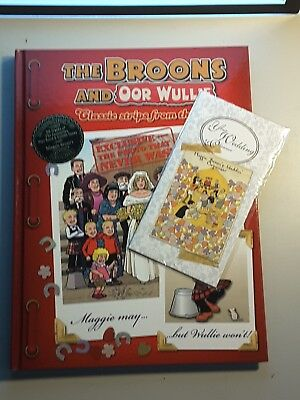 The broons and oor wullie wedding special, with free wedding planner