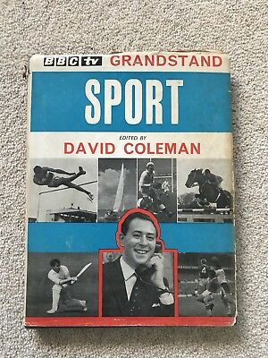 BBC TV Grandstand Sport Early 1960's Book Edited by David Coleman
