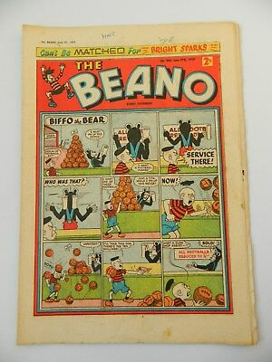 Beano Comic #884 (1959) - June 27th - Fine- Condition