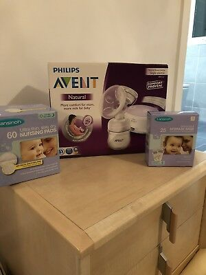 Avent Natural Single Electric Breast Pump With Extras