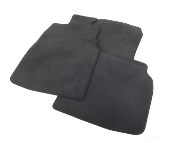 New Genuine BMW 7-Series F02 F03 F04 LHD Set Carpeted Floor Mats Anthracite OEM