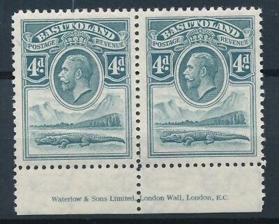 [50801] Basutoland 1933 good pair MNH Very Fine stamps