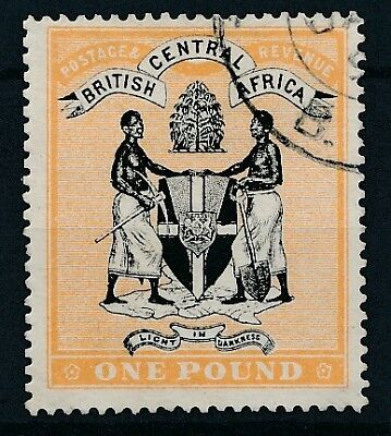 [50902] British central Africa 1895 Very good Used Very Fine stamp $500 (no wtmk