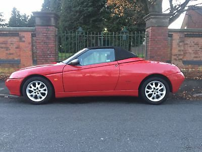 Alfa romeo gtv spider 916 Good condition history file Rosso Red long MOT not kit
