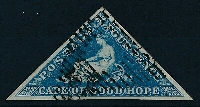 [51011] Cape of good Hope 1853 good Used Very Fine stamp (2 pics in desc) LUXE
