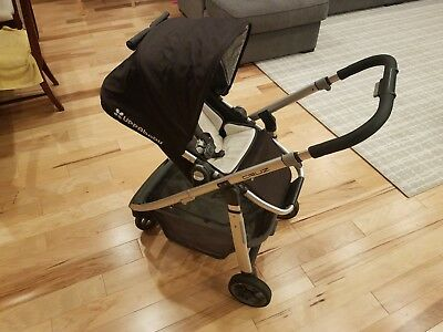 UPPAbaby 0071JKE Cruz Jake Stroller, Infant Seat, Bug & Rain Shield, Travel Case