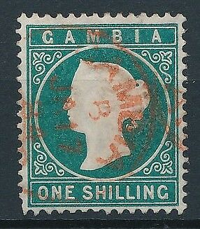 [51110] Gambia 1880 Very good Used Very Fine stamp $200
