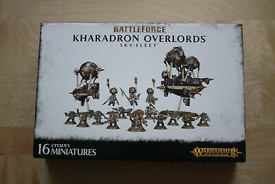 Battleforce Kharadron Overlords Sky-Fleet Games Workshop Warhammer AoS Dwarf