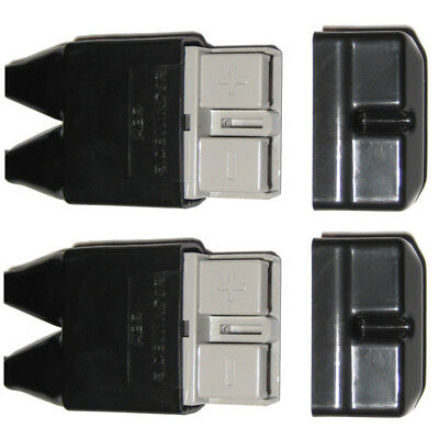 2X Anderson Plug Cover Sets For 50 Amp Plugs Boot Kit Dust Covers