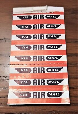 Vintage Lot of Postal Air Mail ~ 1st Class ~ Special Delivery Labels !!