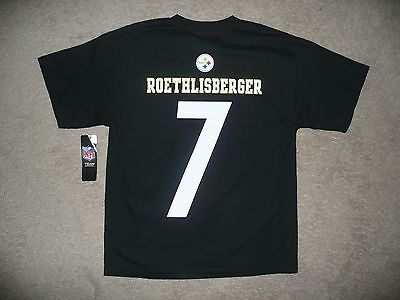 Pittsburgh  Steelers Ben Roethlisberger Nfl Youth T-Shirt Size Xl 18-20