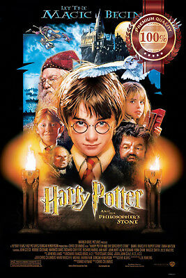 New Harry Potter And The Philosopher's Stone Official Movie Print Premium Poster