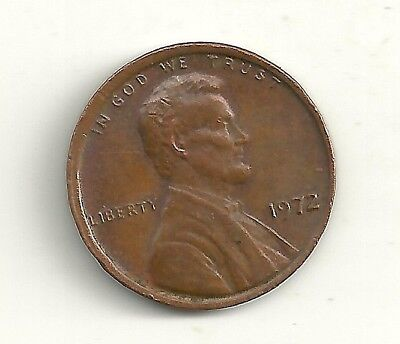 1972 Ddo Lincoln Memorial Penny Doubled Die