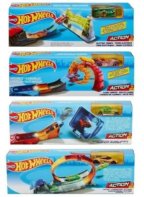 Hot Wheels Classic Stunt Track Set Mattel - 4 themes to choose or get them all