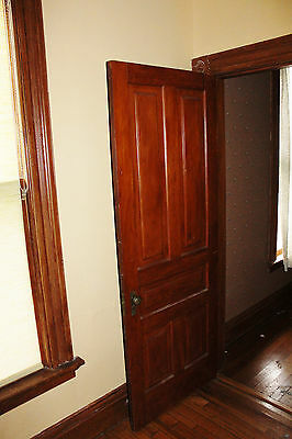 Set of 12 ANTIQUE VICTORIAN INTERIOR PANELED DOORS ONLY. No hardware.