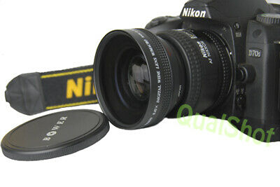 Bower Wide Angle with Macro LENS 52mm for Canon EOS 20D 30D 40D 70D 80D