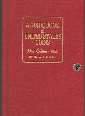 Error Red Book Guide to U S Coins 33rd Edition 1980 Mint