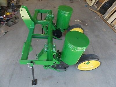 2 Row John Deere Flex Food Plot Corn Planter JD 70