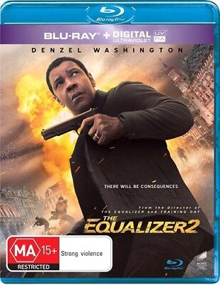 Equalizer 2, The, Blu-ray
