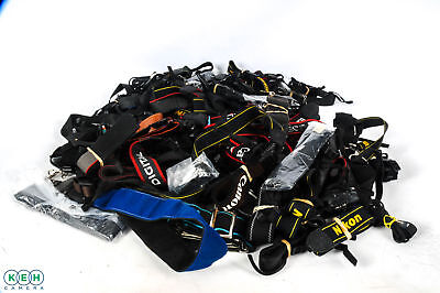 Lot Of Assorted Camera Straps (Nikon, Canon, Olympus & More)