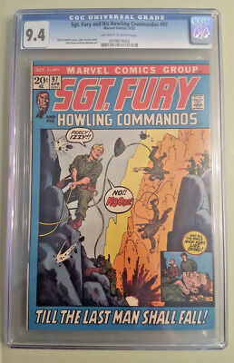 Sgt. Fury and His Howling Commandos #97 - CGC 9.4 - OWW Pages