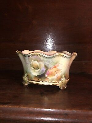 Vintage Footed Victorian Bowl