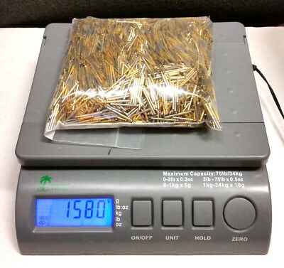 1580 grams Military grade contact pins/connectors for use or scrap gold recovery
