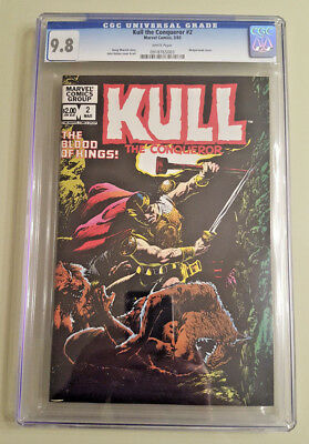 Kull the Conqueror #2 (1983) - CGC 9.8 - White Pages