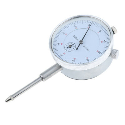 Precision Dial Test Indicator w/ Pointer Precise Measuring, Metric, 0-30mm