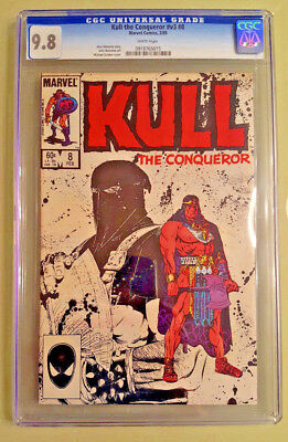 Kull the Conqueror #8 (1985) - CGC 9.8 - White Pages
