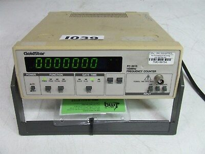GOLDSTAR FC-2015 150MHZ FREQUENCY COUNTER *Tested*