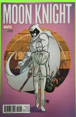 Moon Knight #14 Ferry Variant Cover 1:25 & Free Secret Avengers Tpb New 1 Marvel