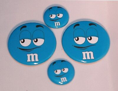 4 M&M Magnets-Makes Great Gifts- Choice of Color