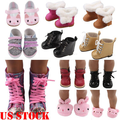 US STOCK Doll Shoes Accessories For 18 inch Our Generation Accs
