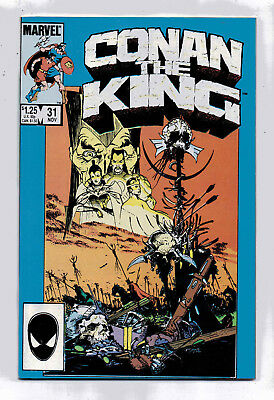 Conan the King #31 and #32, Marvel, 1985, VF+ condition, Robert E Howard