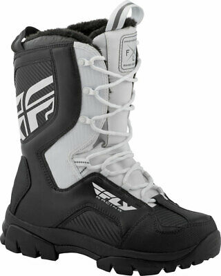 Fly Racing Snowmobile Marker Boots (White) 10