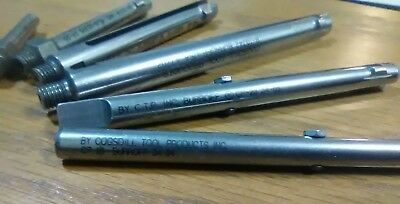 Lot Of 10 Cogsdill Burroff Deburring Tools