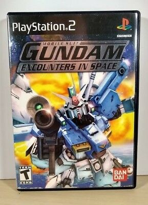 Mobile Suit Gundam : Encounters in Space ( Sony PlayStation 2 ) PS2 ,Complete