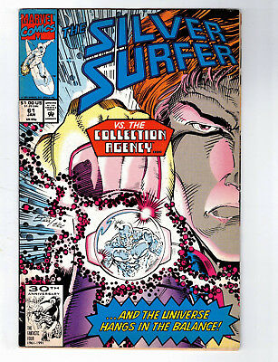 1991 Marvel The Silver Surfer Comic Book #61