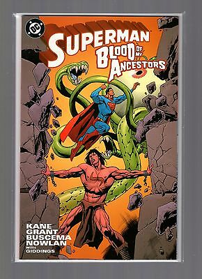Superman Blood Of My Ancestors NM Kane, Buscema, Prestige Format