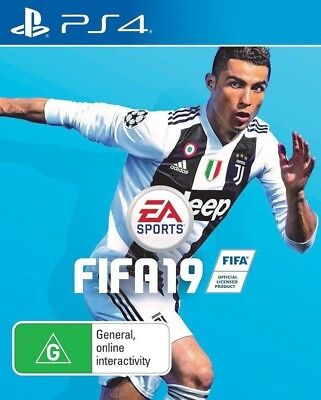 Fifa 19 Playstation 4 (PS4) Game Brand New & Sealed