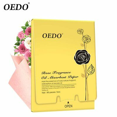 90 pieces / box Oedo rose fragrant oil absorption face pap ES