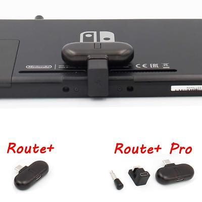 Gulikit Route+ Pro Bluetooth Adapter Transceiver for Nintendo Switch w/ Mic