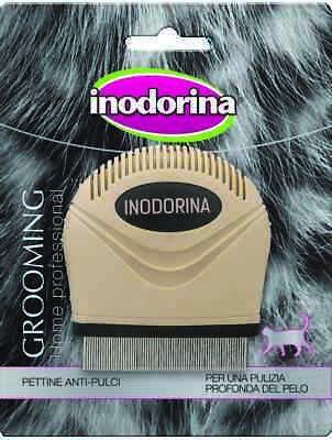 Inodorina Pettine Anti Pulci Gatto Flea Comb Cat Grooming