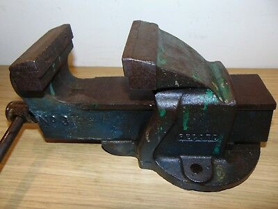 RECORD No 3 BENCH VICE MADE IN ENGLAND