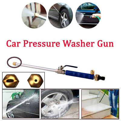 High Pressure Power Washer Water Spray Gun Nozzle Wand Attachment Hose Hydro Jet