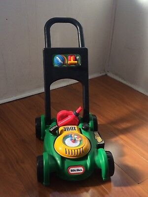Little Tikes Lawn Mower with real sound as new condition