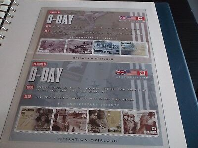 Gambia 2004 Sg Ms4663 60Th Anniv Of D-Day Landings  Mnh