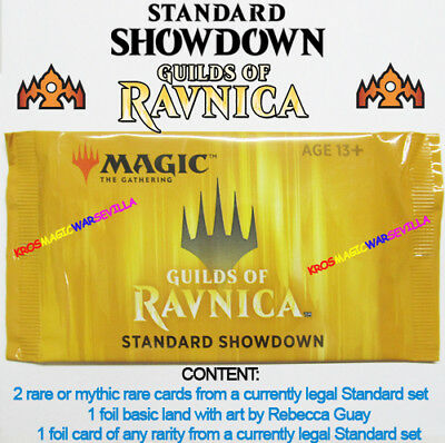 MTG Standard Showdown GUILDS OF RAVNICA Booster Pack Sealed New ENGLISH - MAGIC