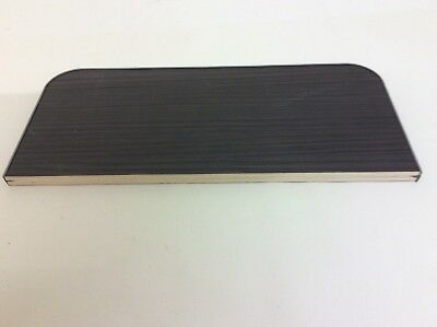 VW Transporter T5/T6 Single Seat Base Cover Black Driftwood Light Weight Ply